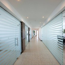Glass Partitions - Ace Contracts
